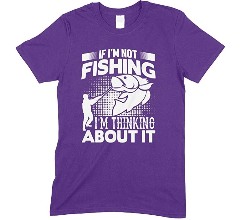 If I'm Not Fishing I'm Thinking About it  - Child's T-Shirt