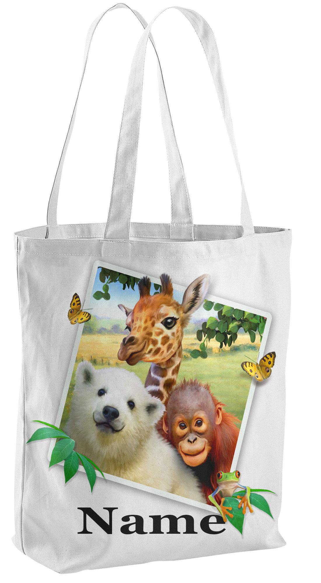 Jungle-Pals Tote Shopping Bag