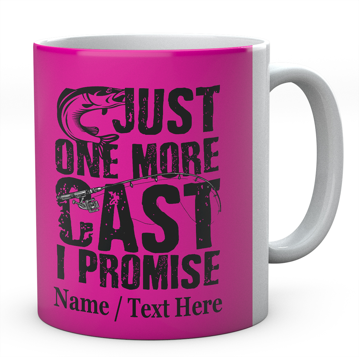 Just One More Cast I Promise- Personalised Mug