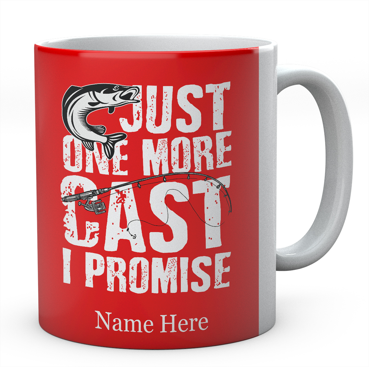 Just One More Cast I Promise-Personalised Mug