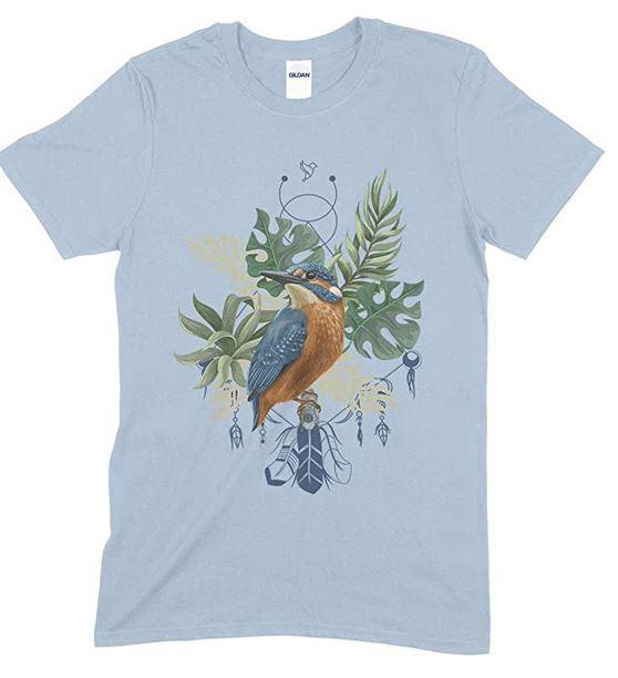 Novelty Kingfisher Unisex T Shirt