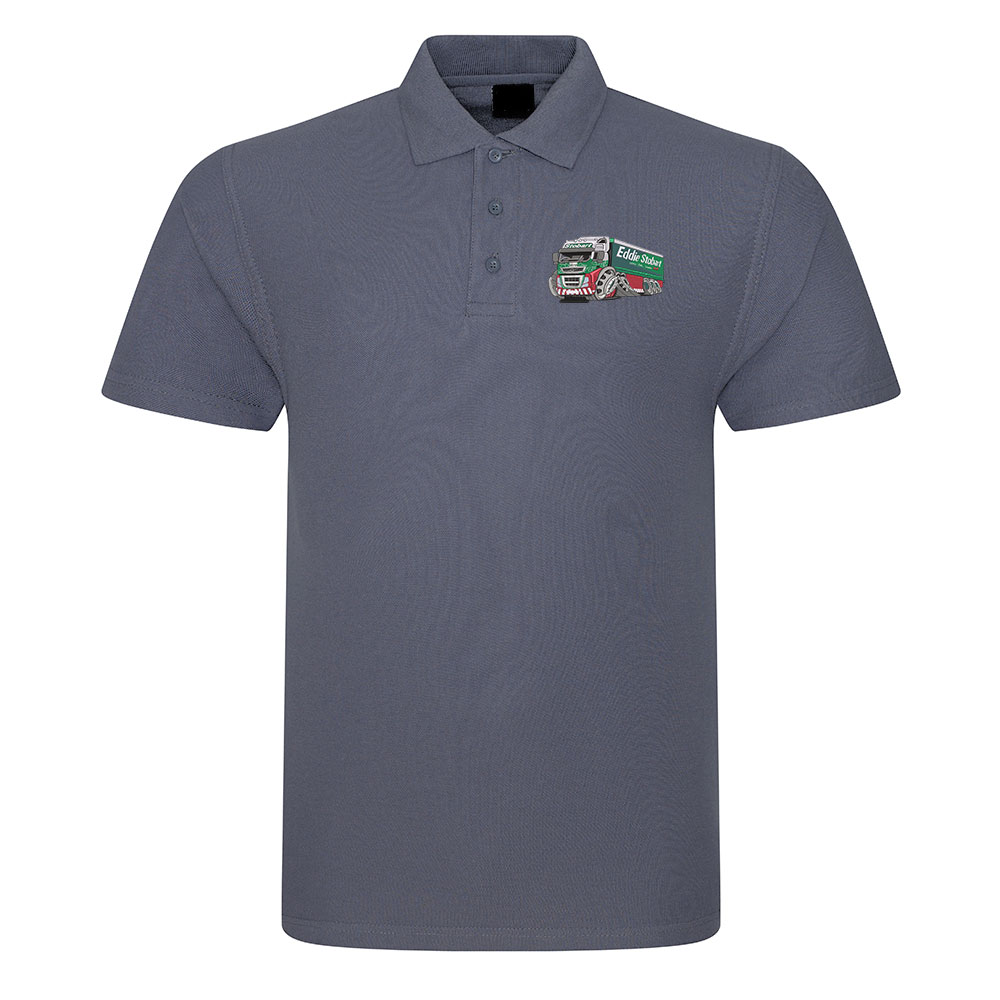 Koolart 3045 Eddie Stobart Lorry-Embroidered Polo Shirt