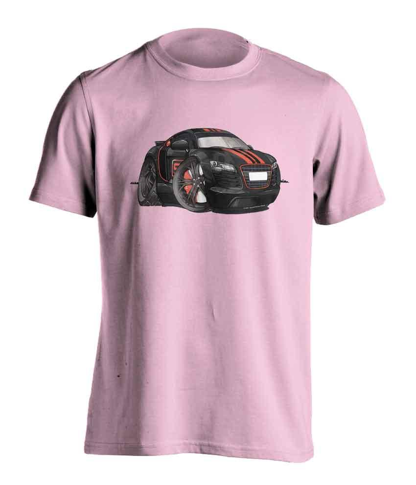 Koolart Audi R8 Black/Red3346 Child's  T Shirt