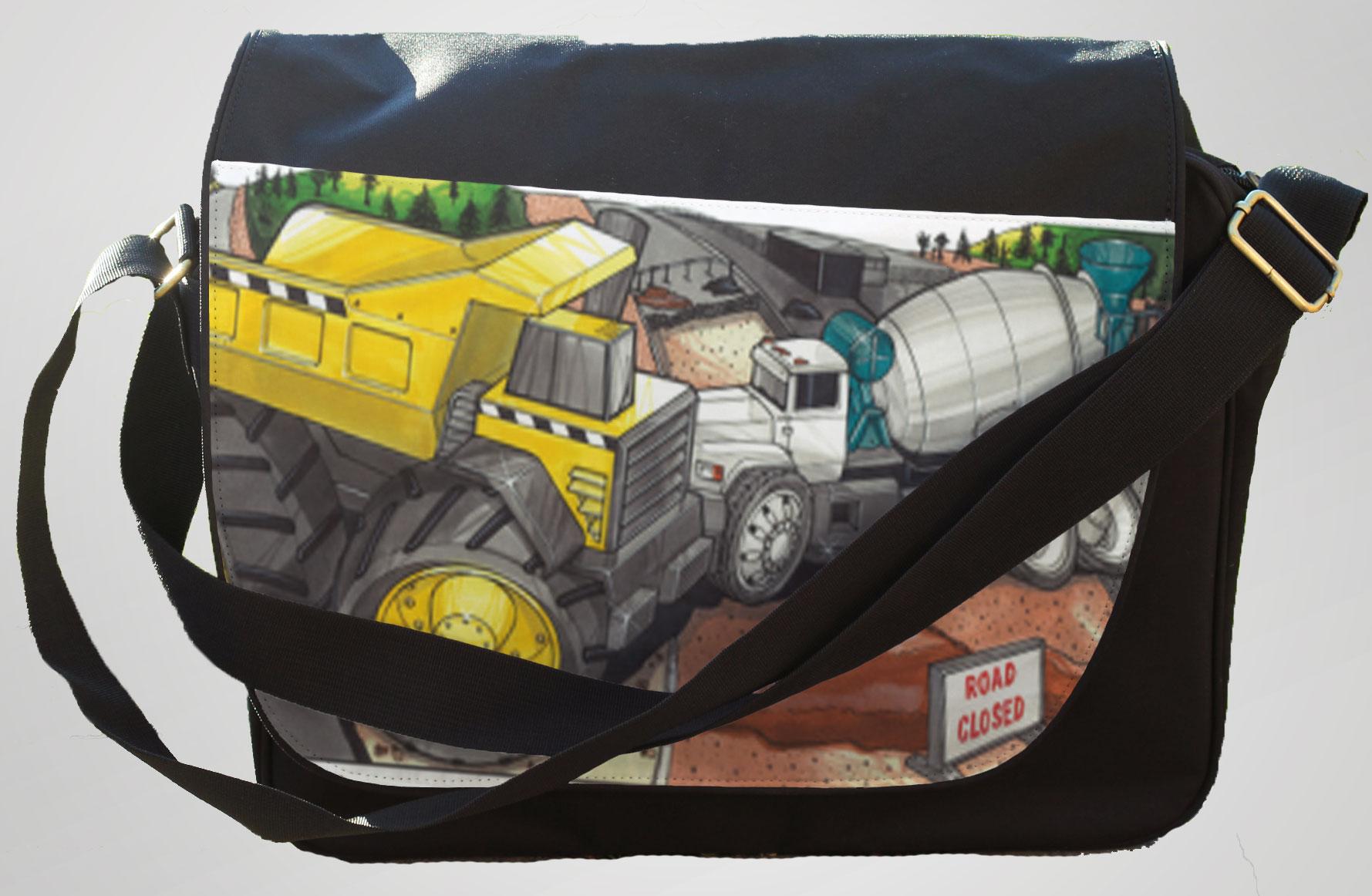 Koolart Construction Site 1805 Messenger/Reporters Bag