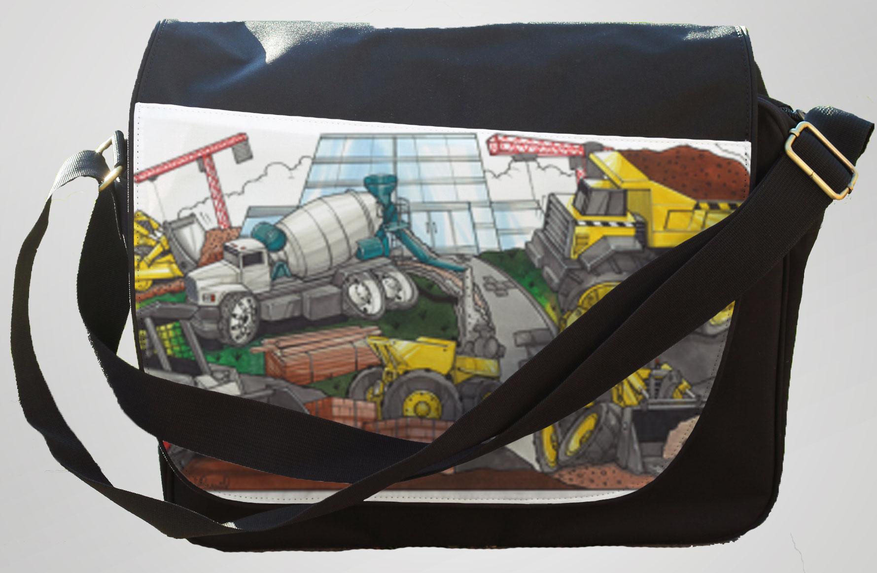 Koolart Construction Site 1806 Messenger/Reporters Bag