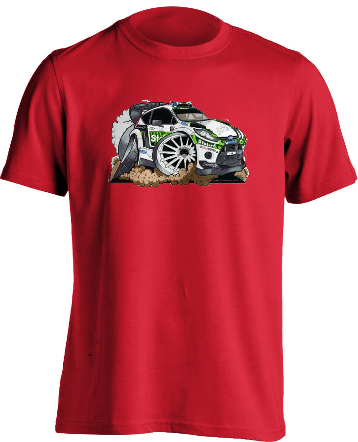 Koolart Eddie Stobart 3050 Car Adults T Shirt