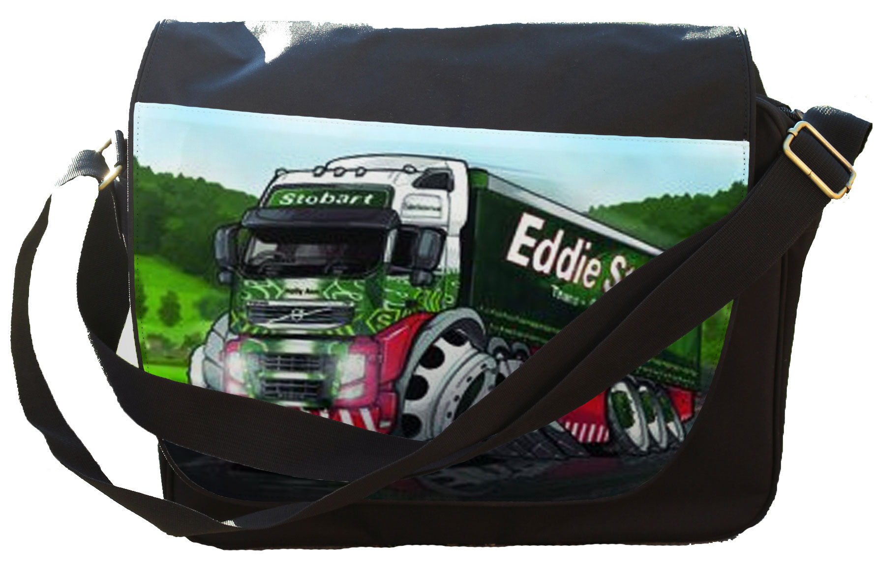 Koolart Eddie Stobart Trucking (3048) Messenger / Reporters Bag