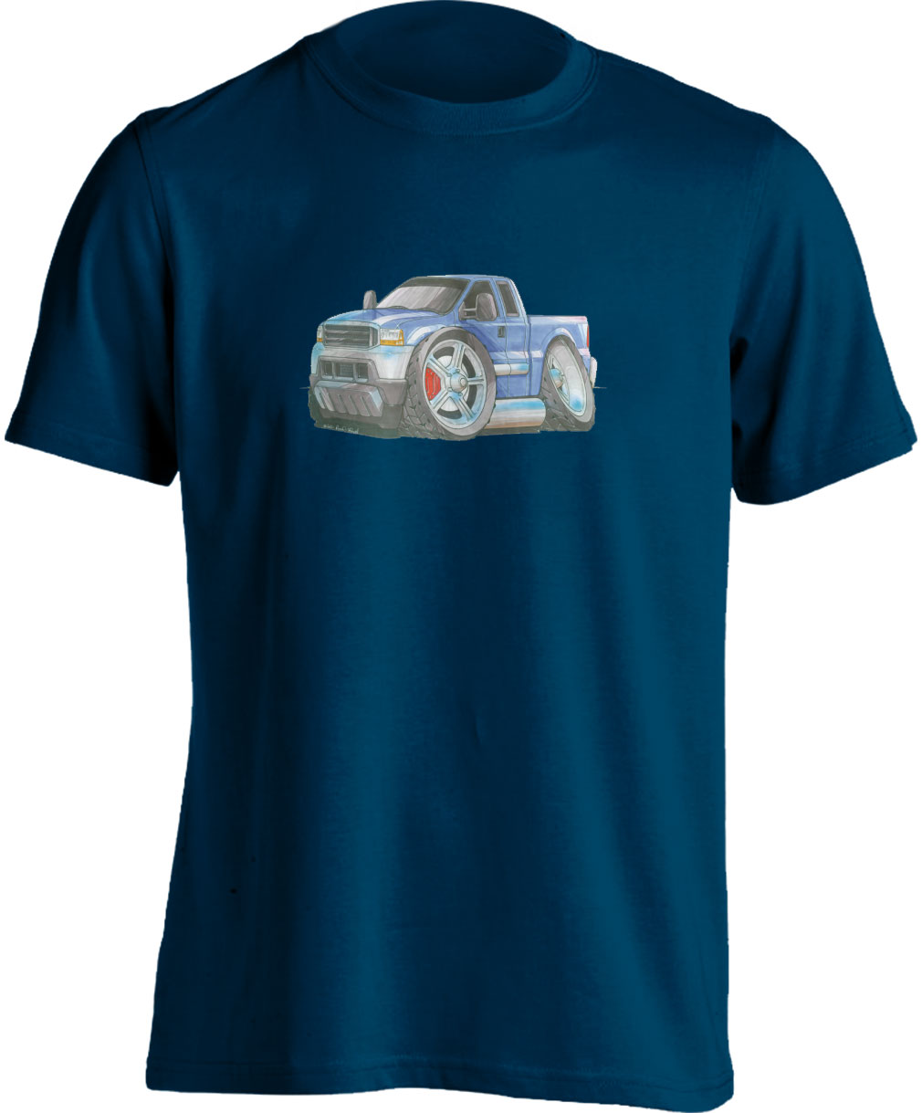 Koolart Excursion Pick Up Blue (1411)T Shirt