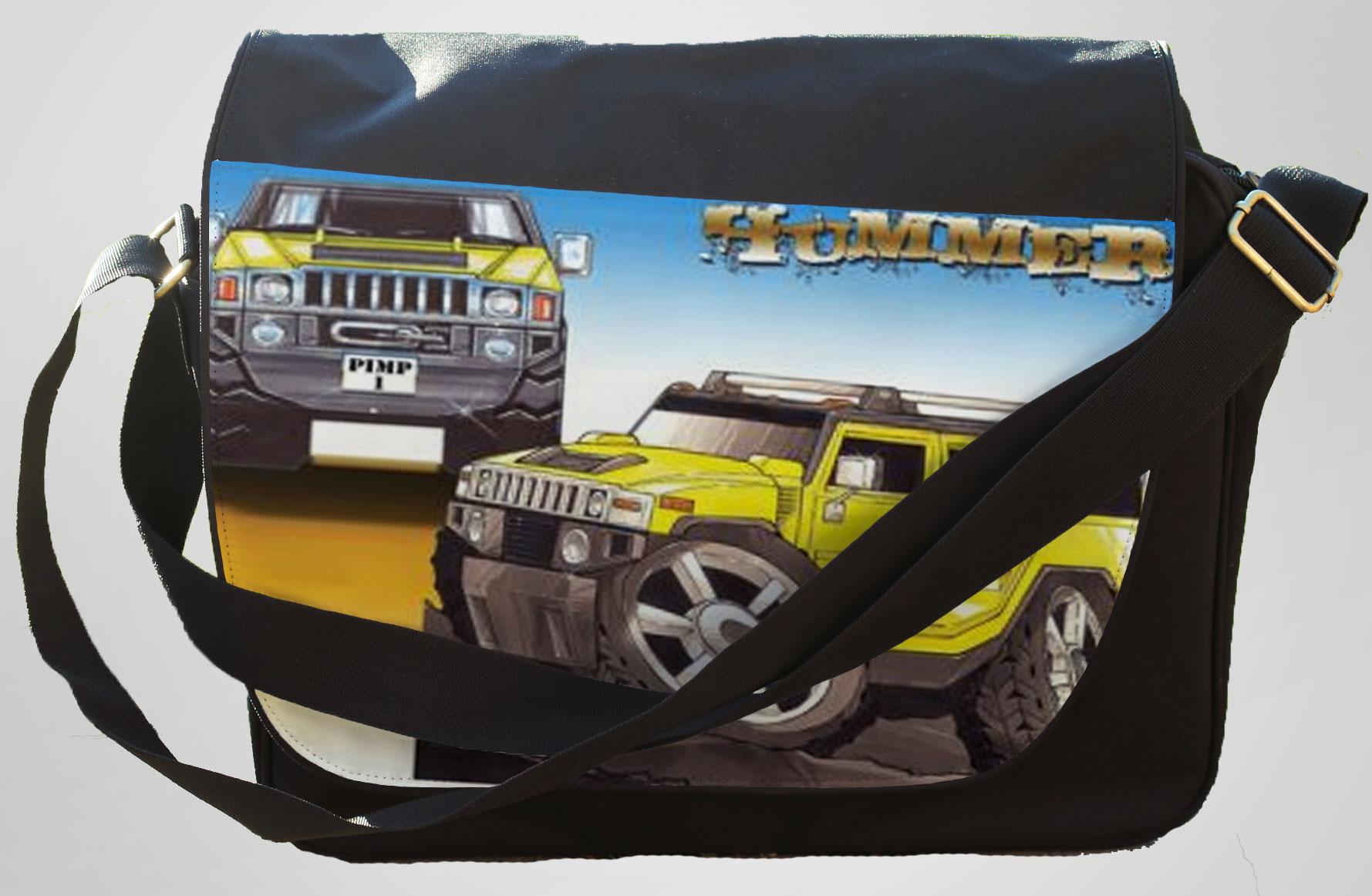 Koolart Hummer Yellow 2610 Messenger/Reporters Bag