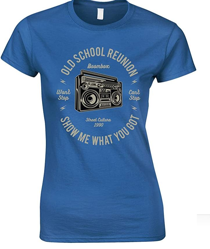 Boombox Old School Reunion- Ladies T Shirt