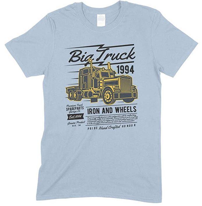 Big Truck 1994 Iron and Wheels- Children's T Shirt Boy-Girl