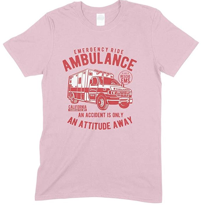 Emergency Ride Ambulance -Men's T Shirt