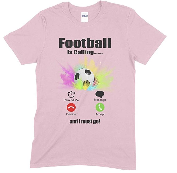 Children's Unisex T Shirt - Football is Calling & I Must Go…
