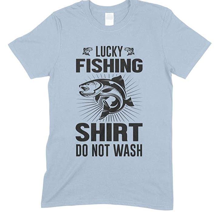 Lucky Fishing Shirt Do Not Wash- Children's T Shirt Boy-Girl
