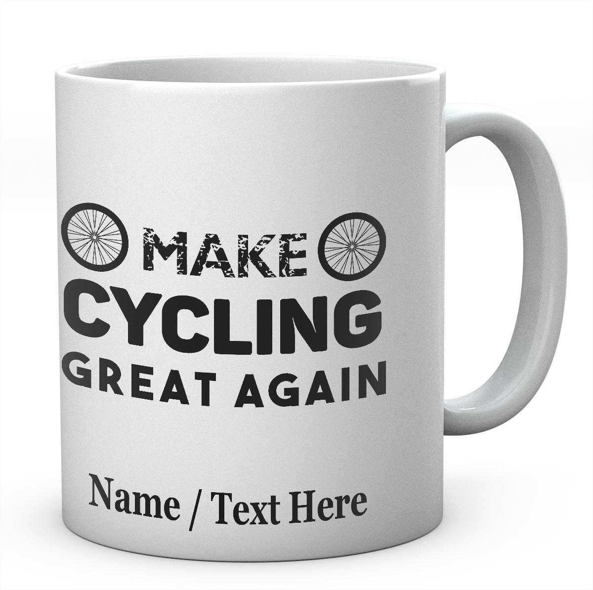 Make Cycling Great Again-Printed Mug
