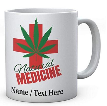 Natural Medicine - Personalised Ceramic Any Name Mug