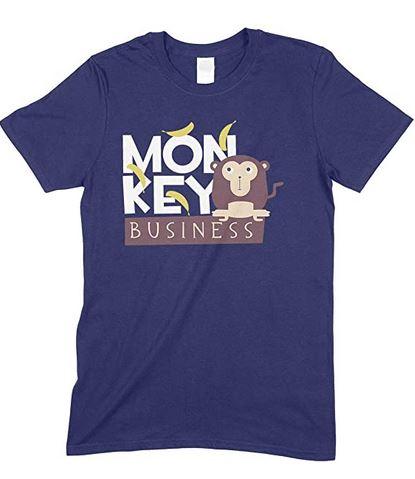 Adults Monkey Business - Novelty Funny Men's Unisex T Shirt