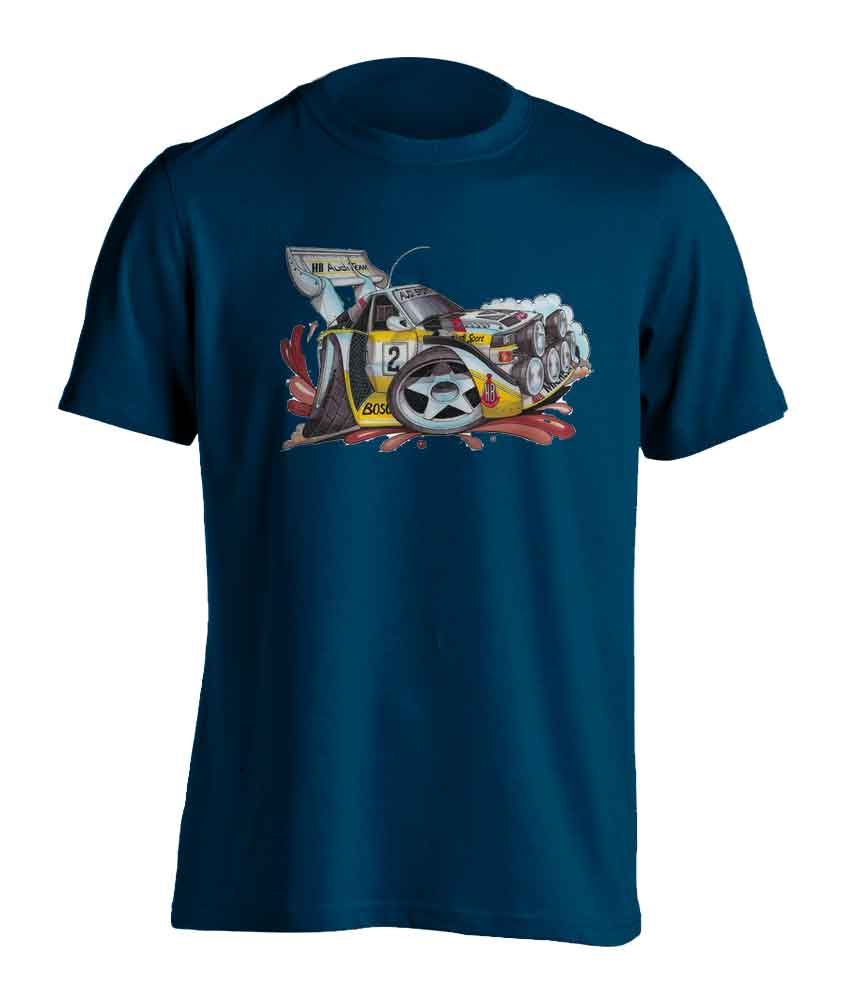 Koolart Audi Quattro Rally Car0033 Child's T Shirt