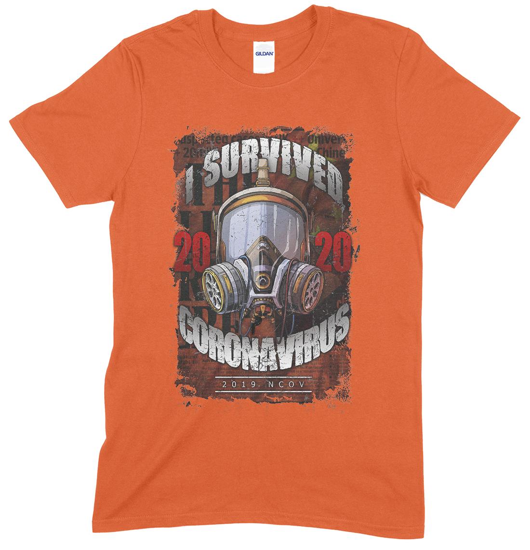 I Survived The Corona virus 2020 T Shirt
