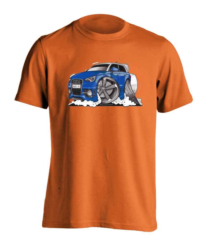 Adults Koolart Audi A13148 Blue T Shirt