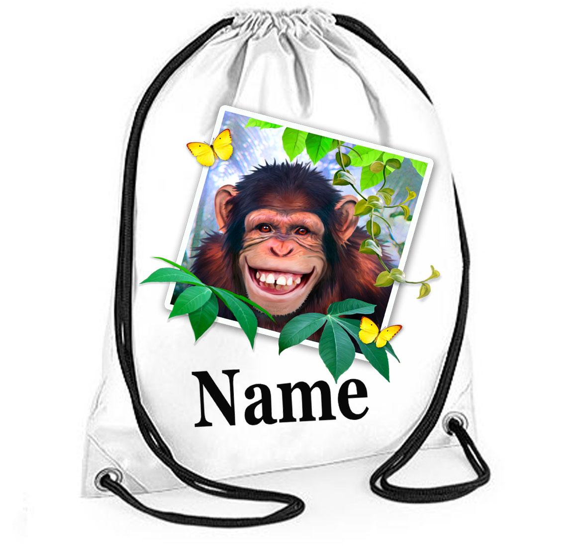PersonalisedChimp Selfie Gym Bag