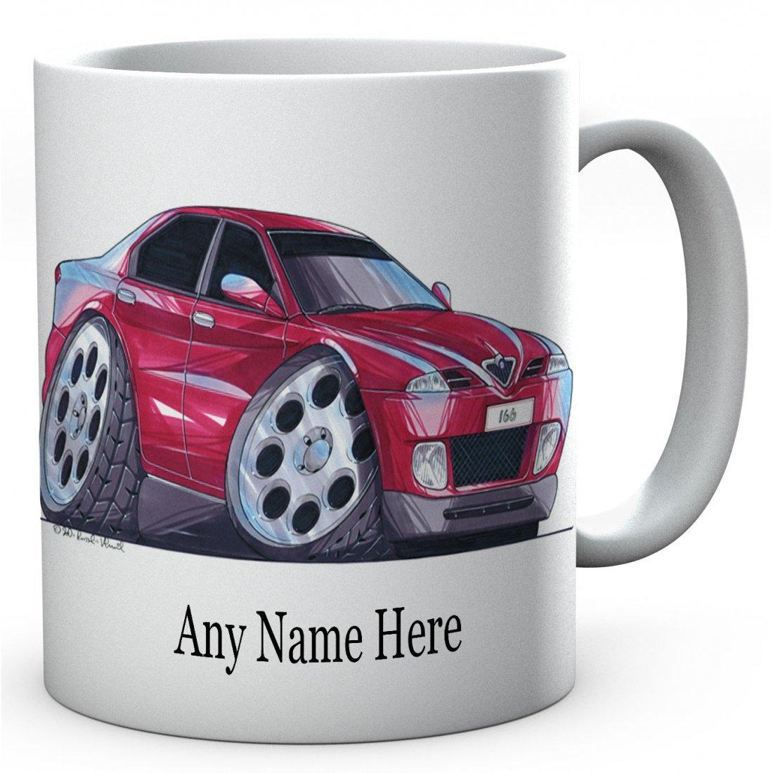 Personalised Alfa Romeo 166 Red(1426)Ceramic Mug