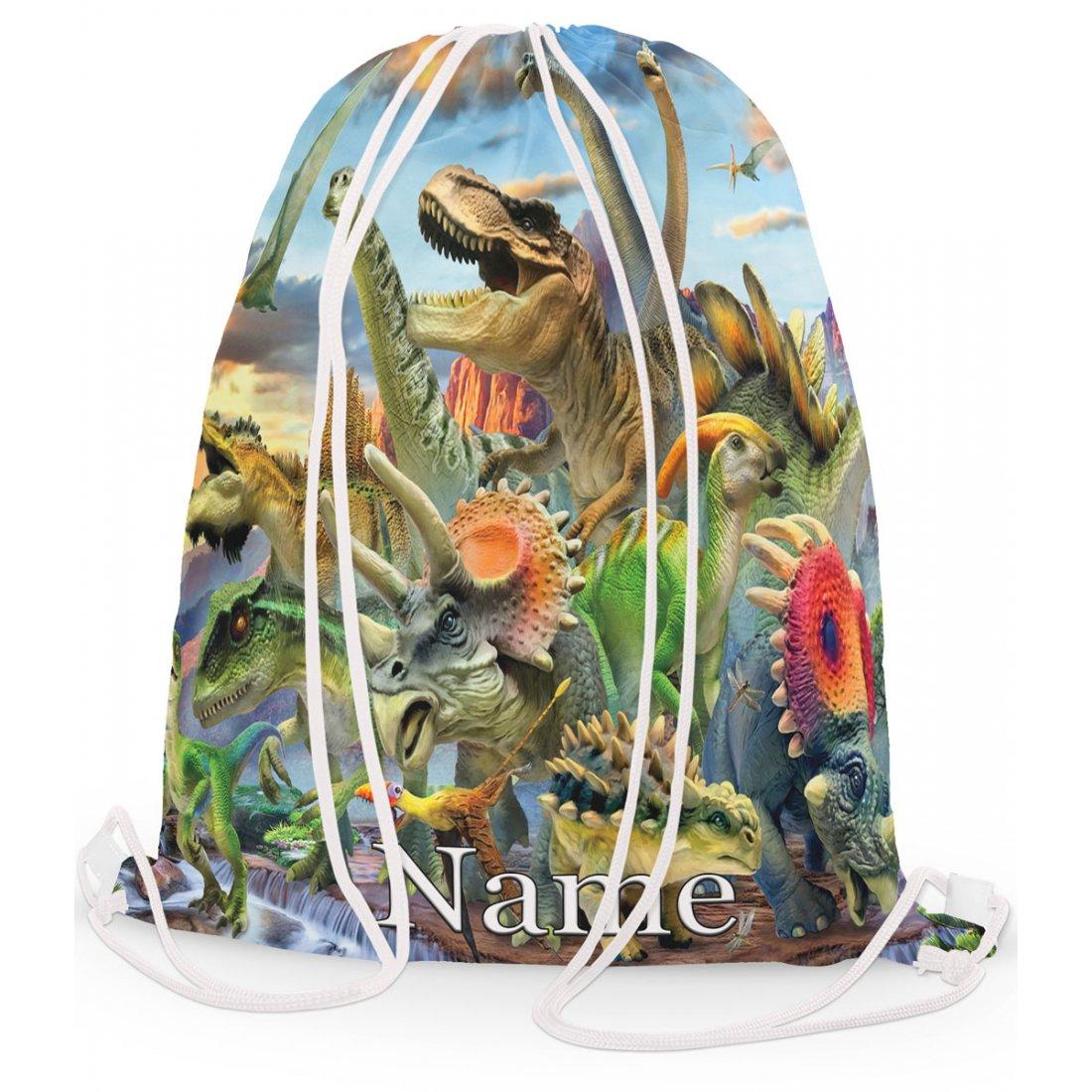 Personalised Dinosaurious Gym Bag