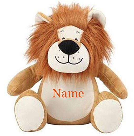 Personalised Embroidered Mumbles Lion Teddy Bear