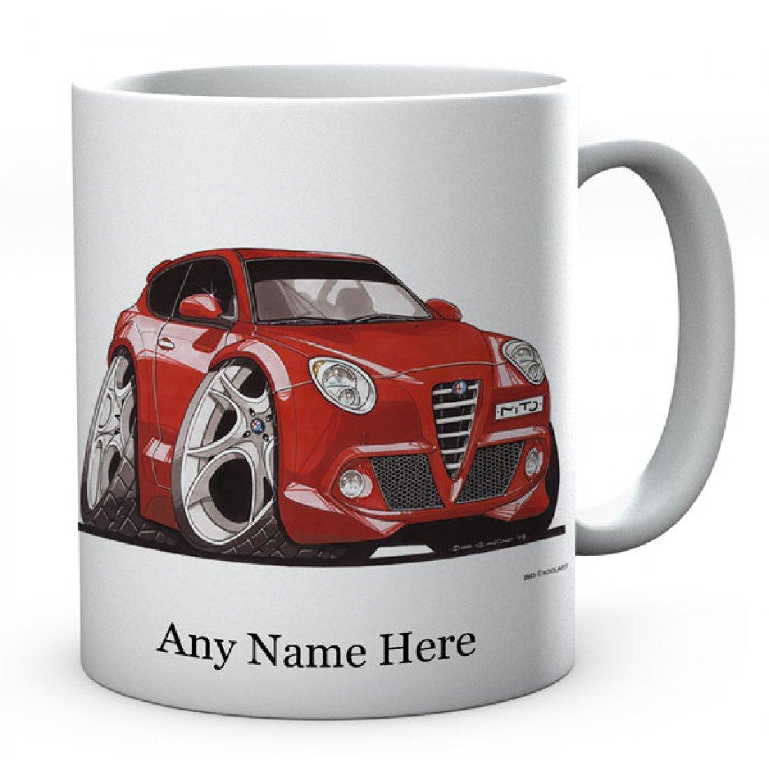Personalised Koolart  Mito Red (2883)Ceramic Mug