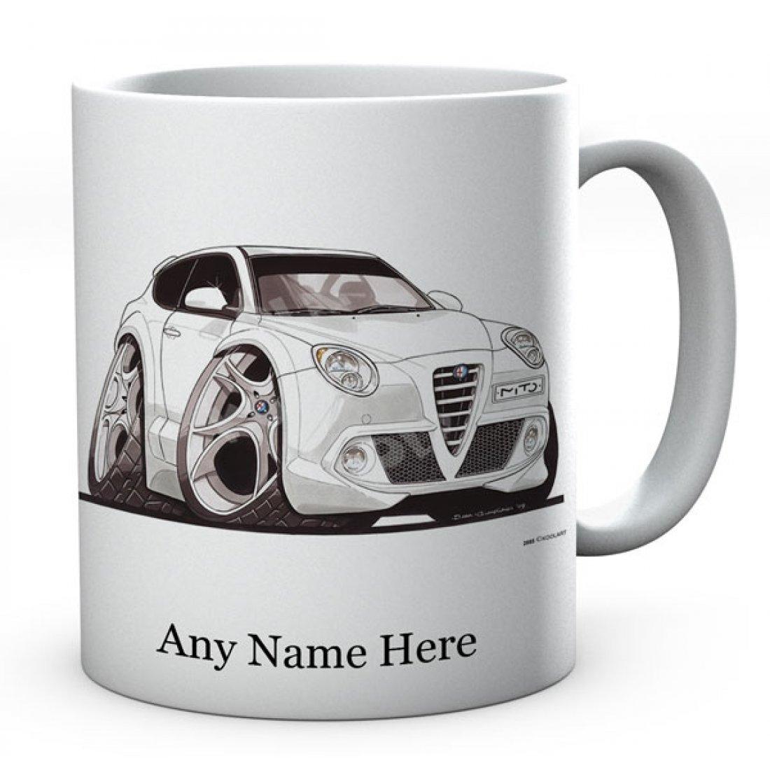Personalised Koolart  Mito White (2885) Ceramic Mug