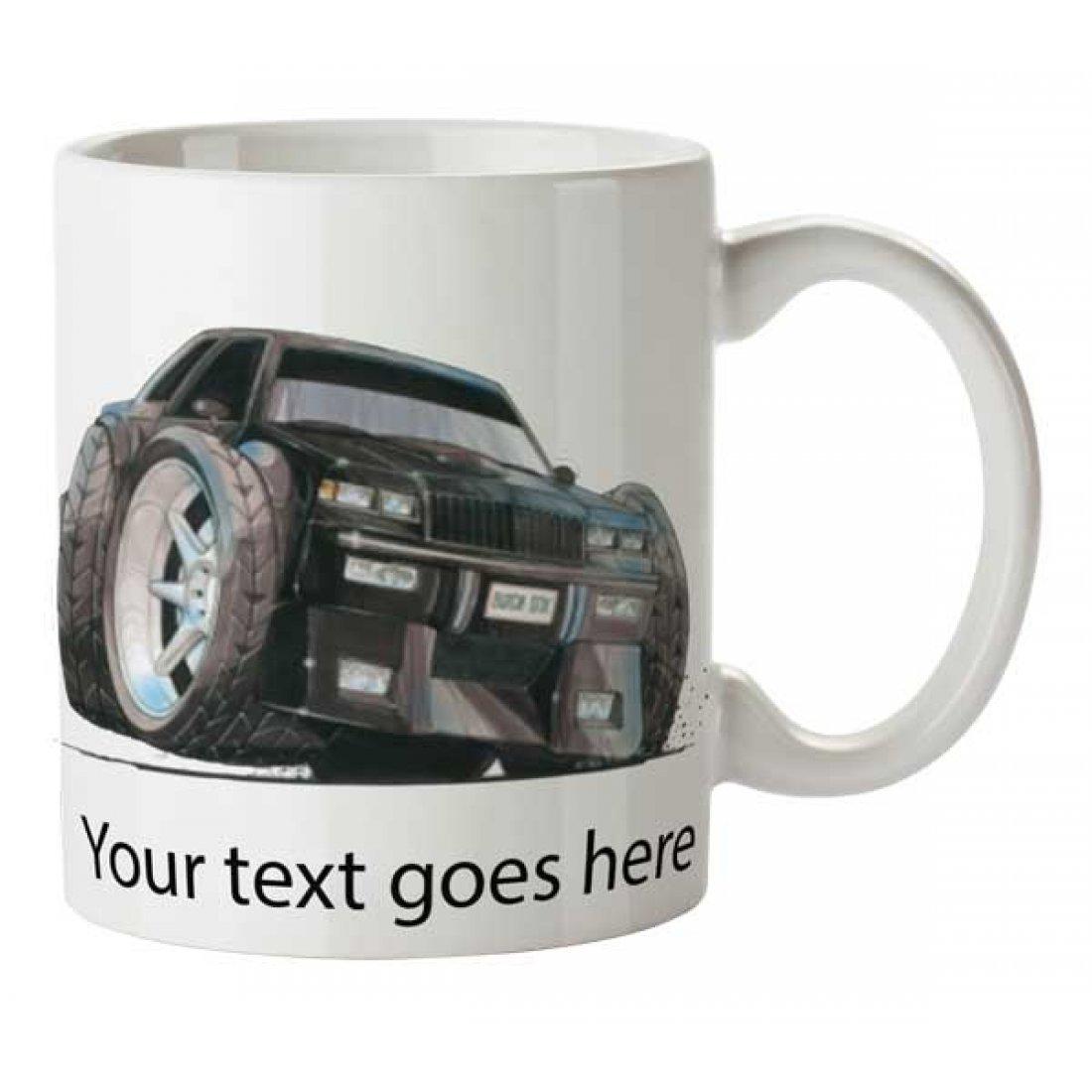 Personalised Koolart BUICK GNX (1121) Ceramic Mug