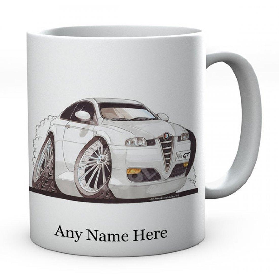 Personalised Koolart GT Silver (2355)Ceramic Mug