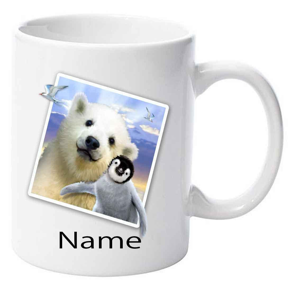 Personalised Polar-Pals Selfie Ceramic Mug