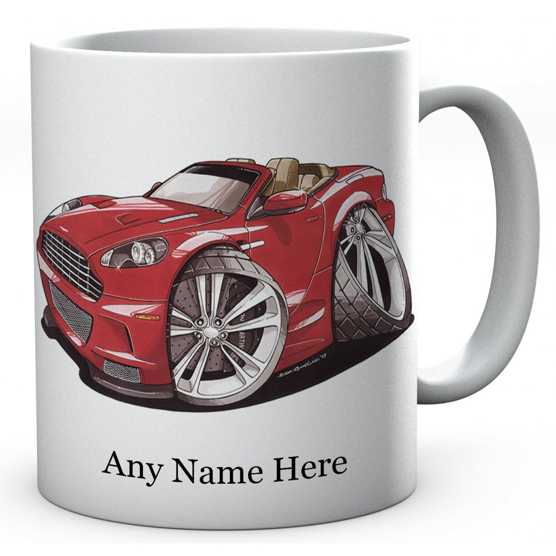 Personalised VOLANTE RED ( 2893)Ceramic Mug
