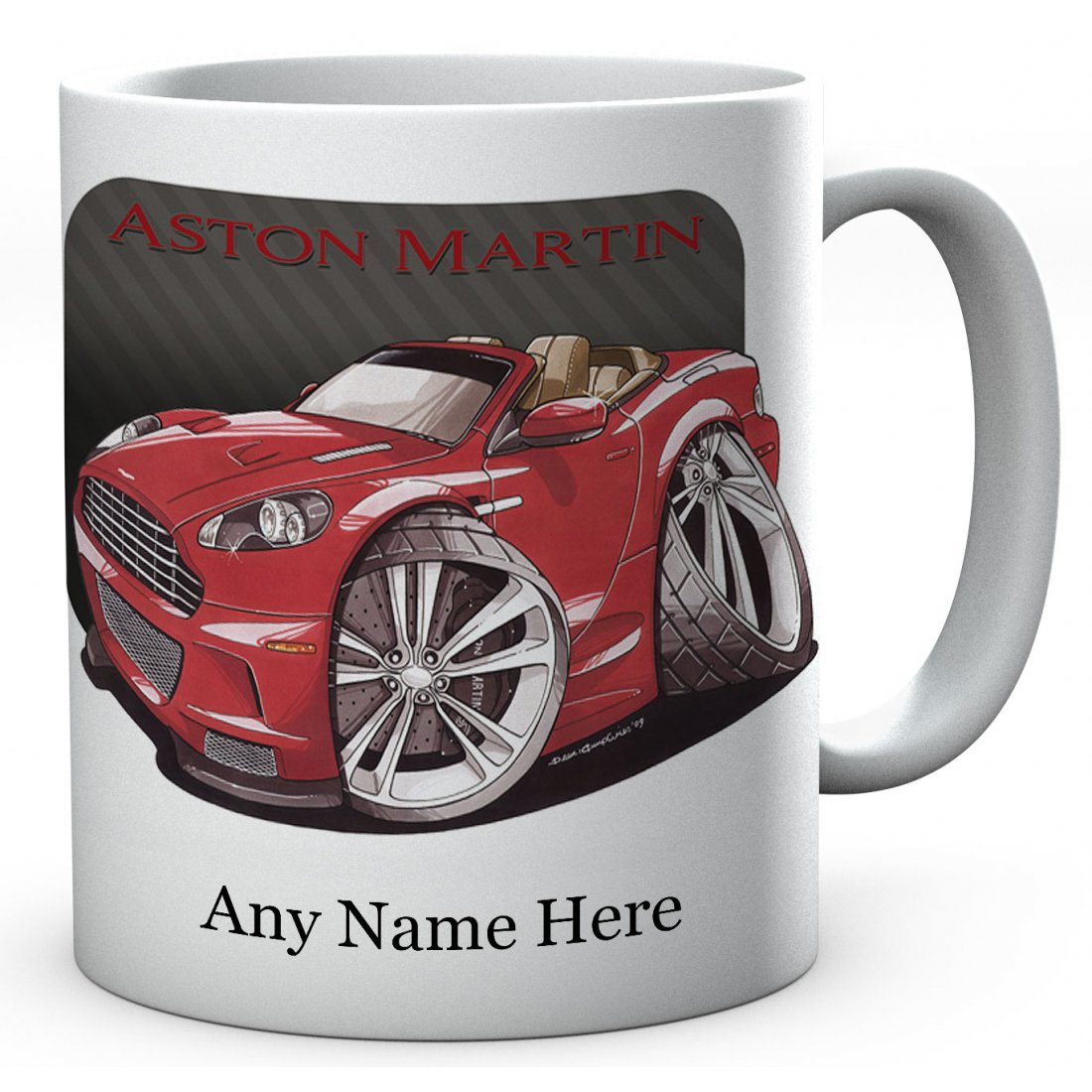 Personalised VOLANTE RED ( 2998)Ceramic Mug