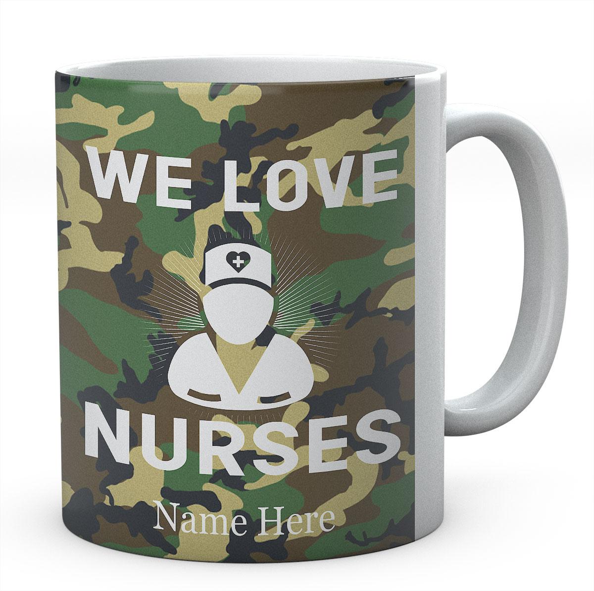 Personalised We Love Nurses Mug