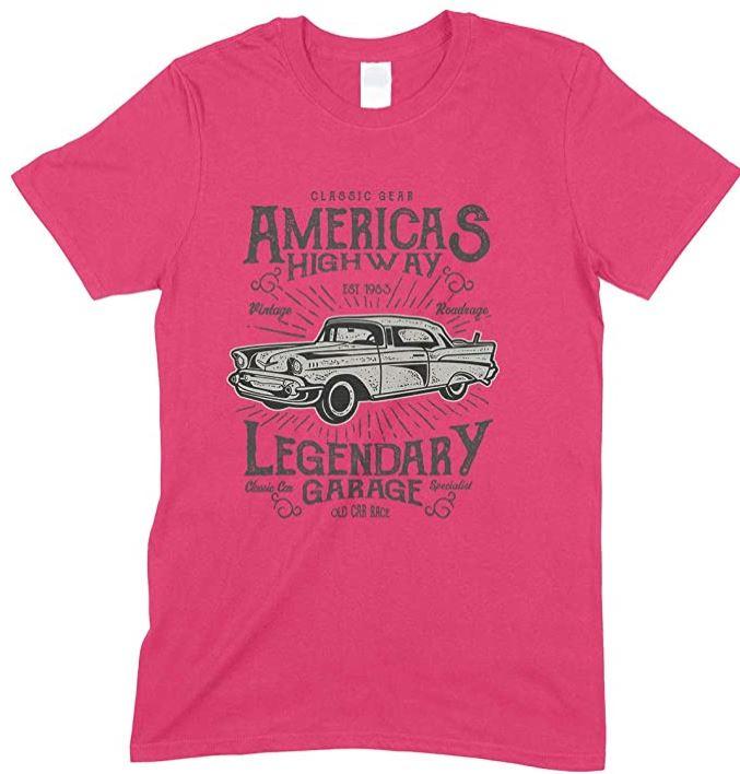 Children's - Classic Gear America's Highway Legendary Garage T Shirt-Boy-Girl