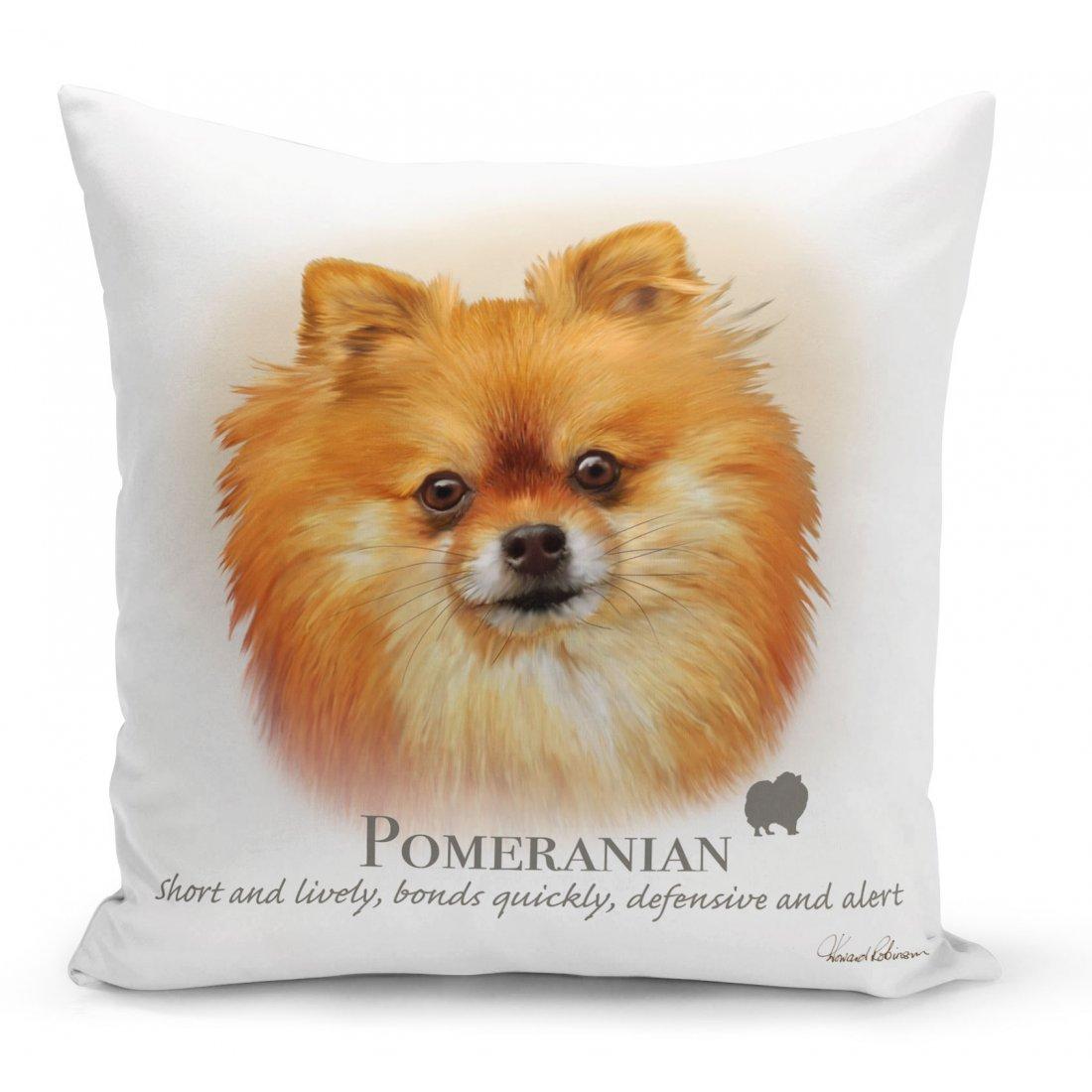 Pomeranian Dog Cushion