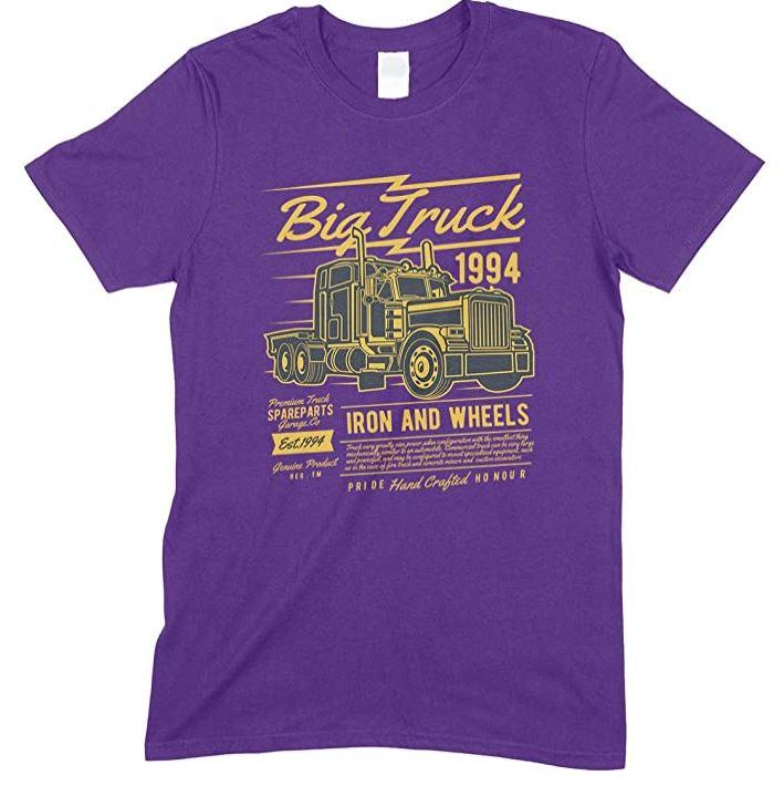 Big Truck 1994 Iron and Wheels Men's - Unisex T Shirt