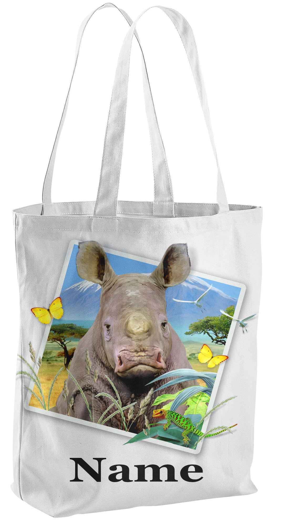 Rhino 1 Tote shopping Bag