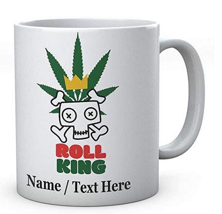 Roll King- Personalised Any Name Ceramic Mug