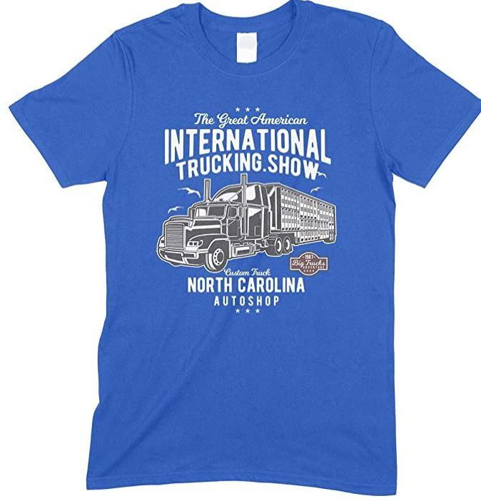 The Great American International Trucking Show Children's T Shirt Boy-Girl