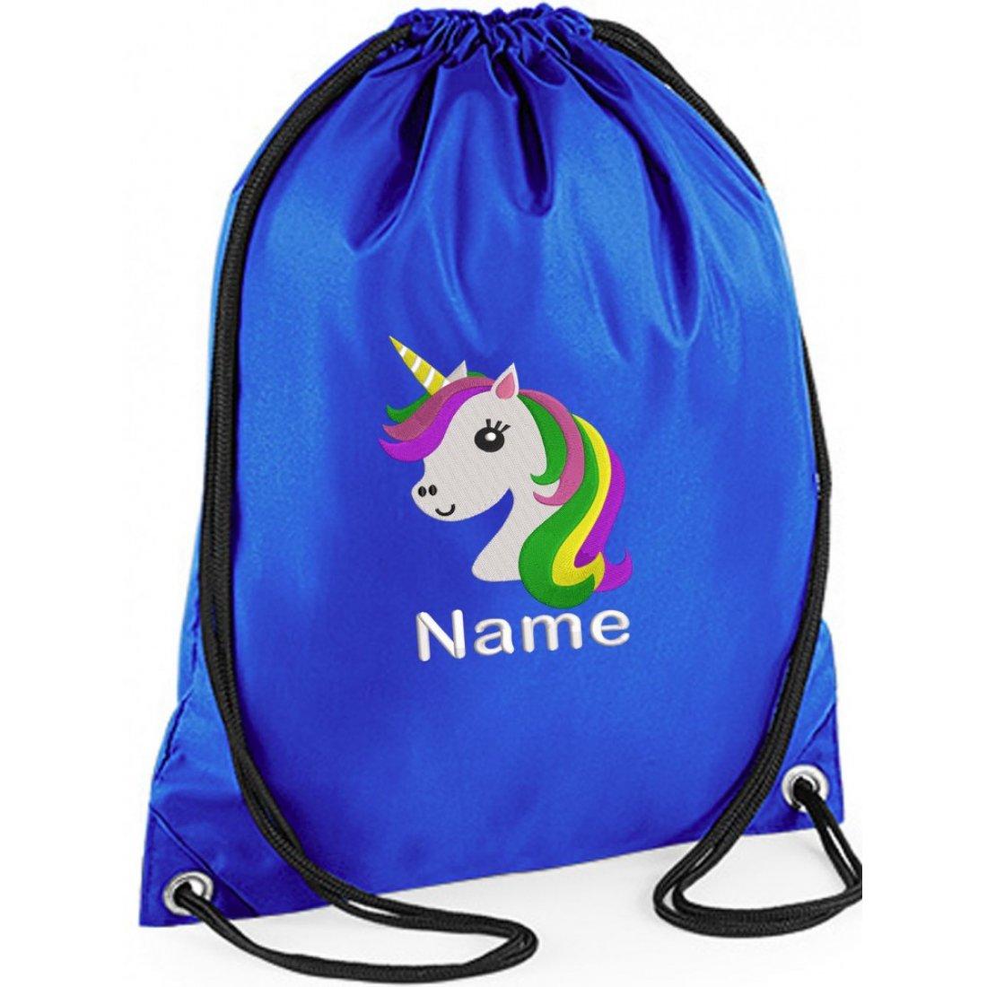 Unicorn Gym Bag Embroidered