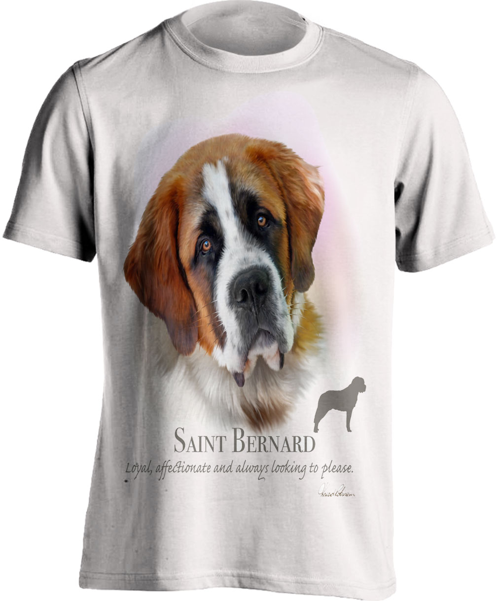 Saint Bernard T Shirt