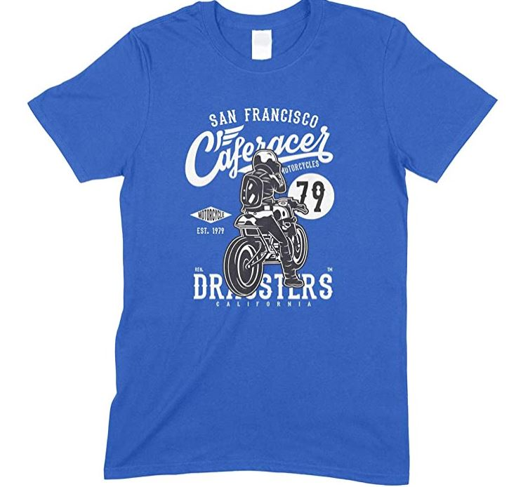 San Francisco Caferacer Motorcycles Men's Unisex T Shirt