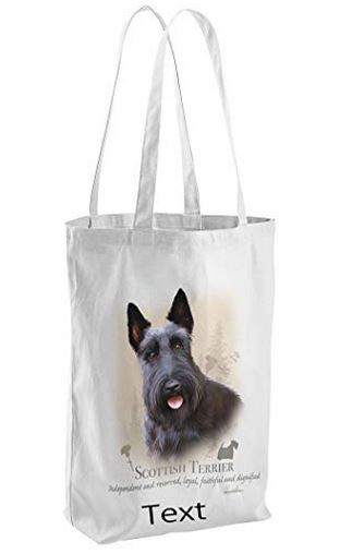 Scottie Dog Tote Shopping Bag