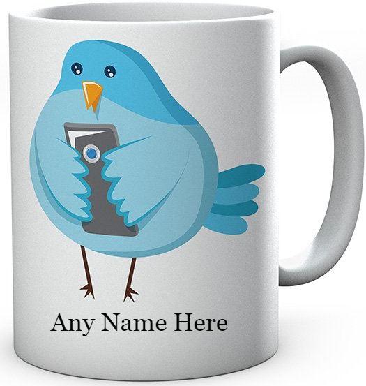 Social Media Ceramic Mug