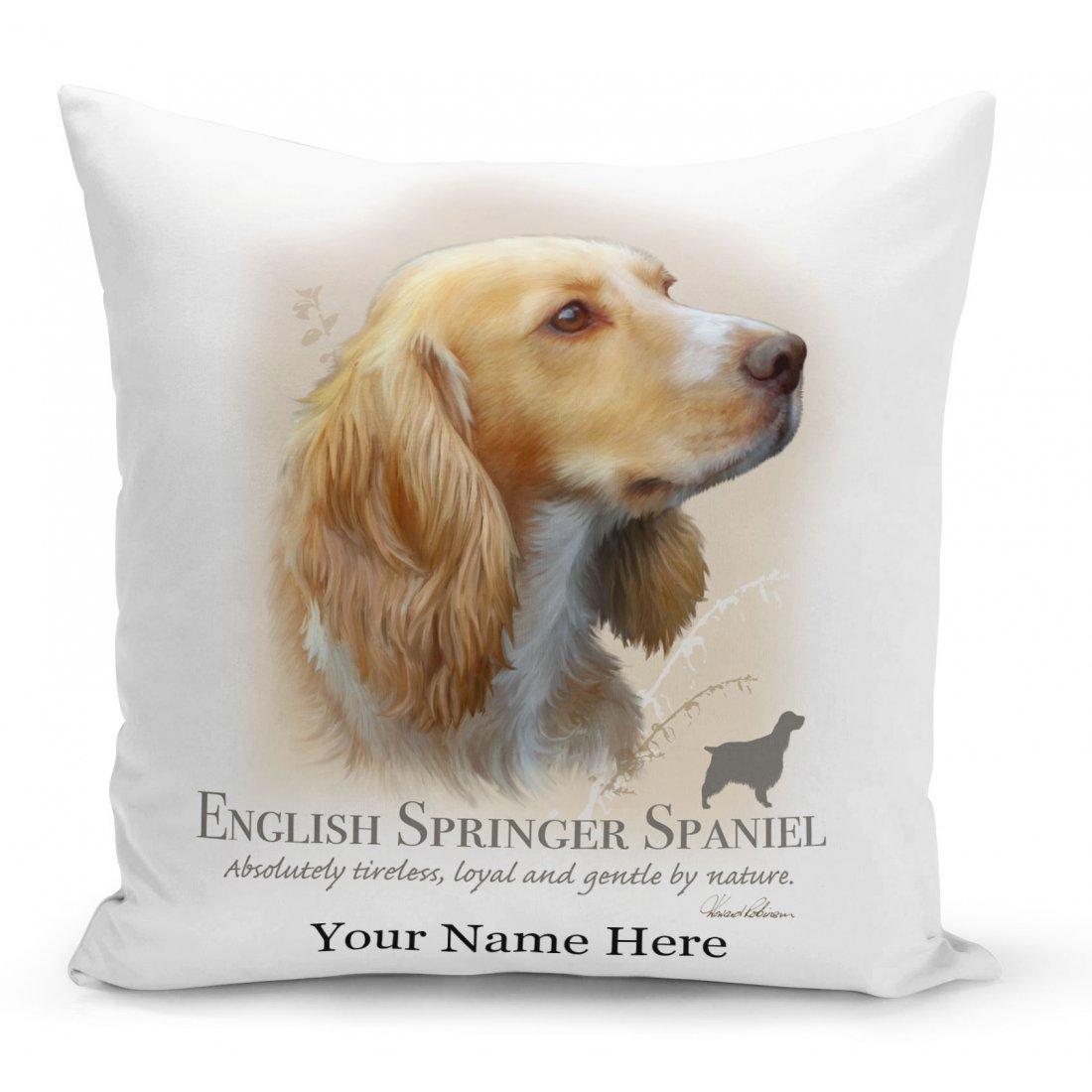 Springer Spaniel Cushion