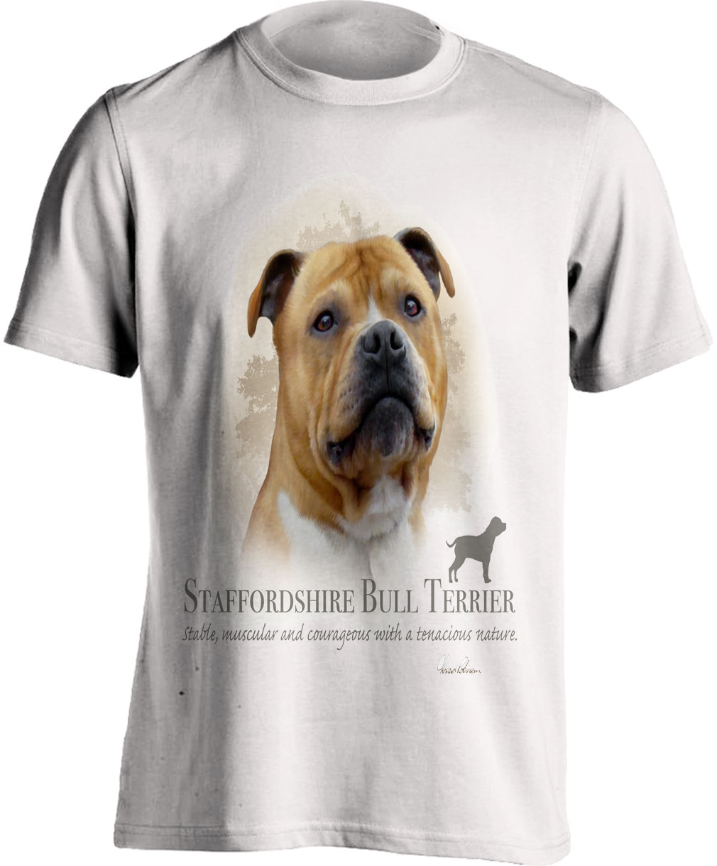 Staffordshire Bull Terrier T Shirt