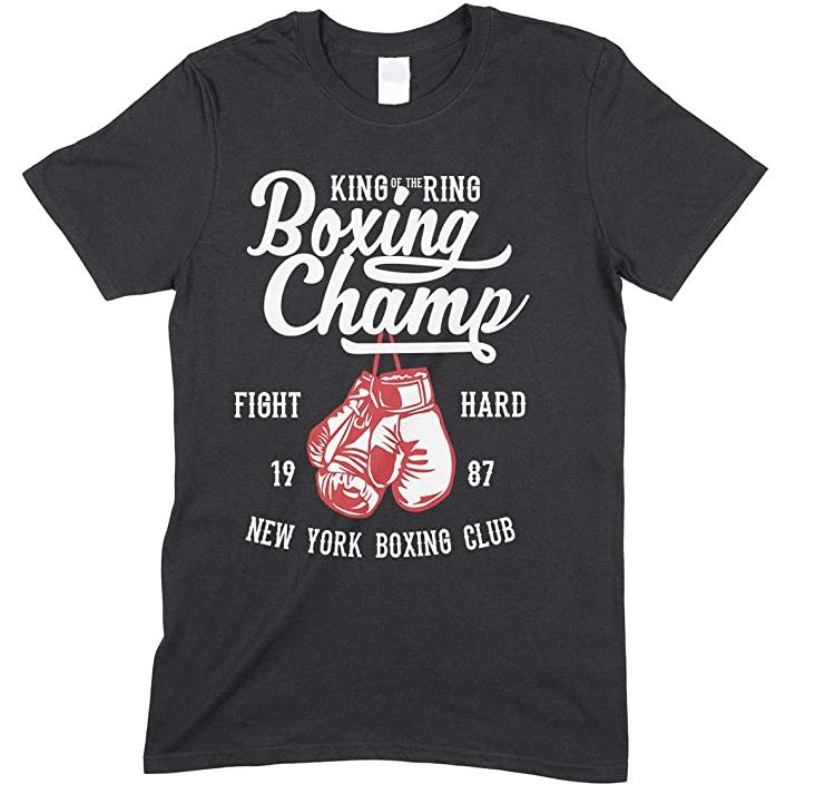 King of The Ring- Boxing Champ -Child's T Shirt Boy-Girl